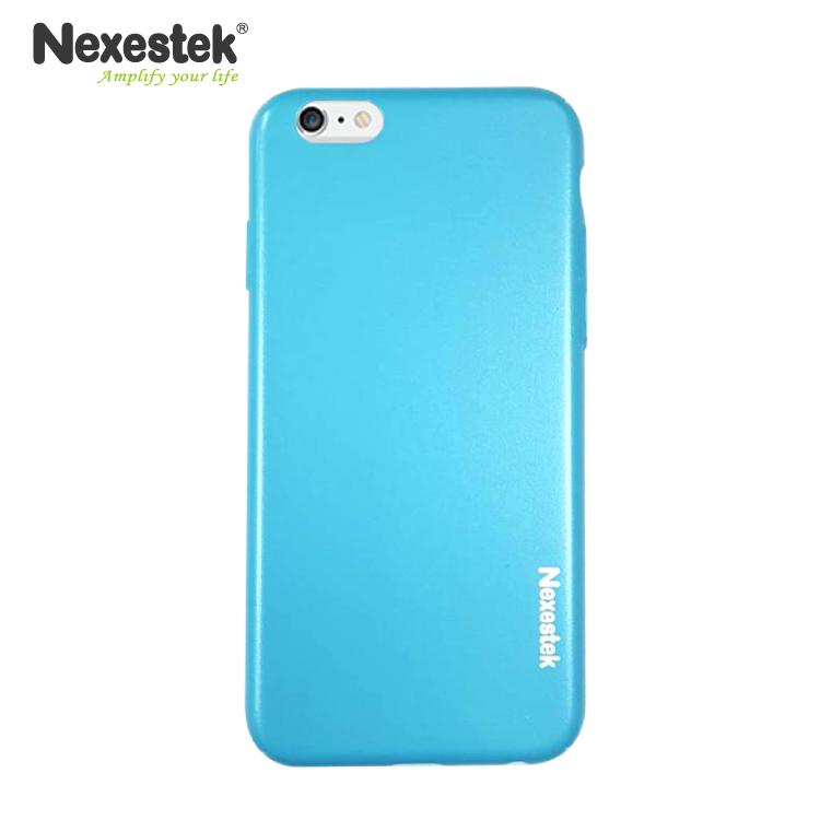 Nexestek 全包覆炫彩漆藍保護殼 - iPhone 6 / 6S 專用炫彩漆藍