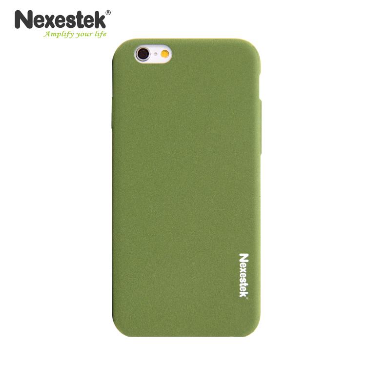 Nexestek 全包覆流沙綠保護殼 - iPhone 6 / 6S 專用流沙綠