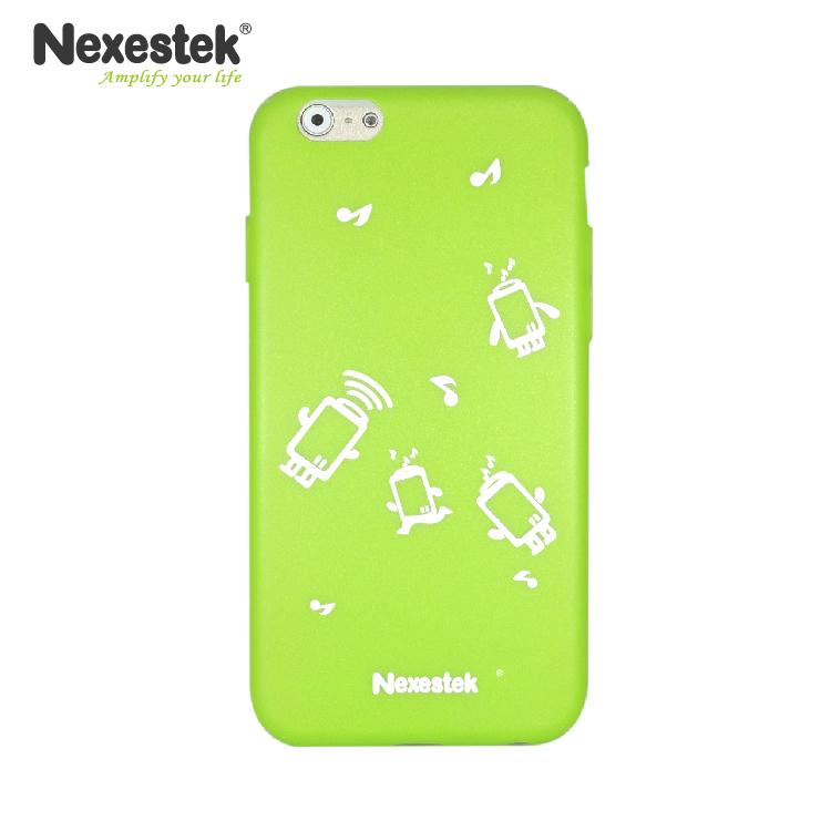 Nexestek 全包覆炫彩漆綠保護殼 - iPhone 6 / 6S 專用(公仔款)炫彩漆綠