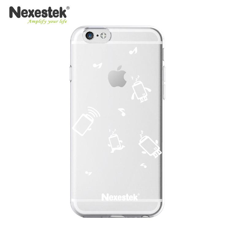 Nexestek 全透明全包覆保護殼- iPhone 6 / 6S 專用(公仔款)透明