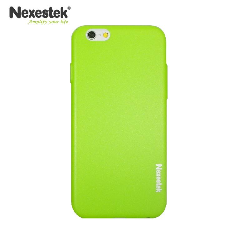 Nexestek 全包覆炫彩漆綠保護殼- iPhone 6 / 6S Plus 專用炫彩漆綠