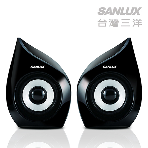 台灣三洋SANLUX 2.0聲道USB多媒體電腦喇叭 (SYSP-235)