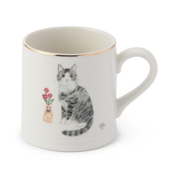 【Afternoon Tea】慵懶貓咪馬克杯 鯖花美