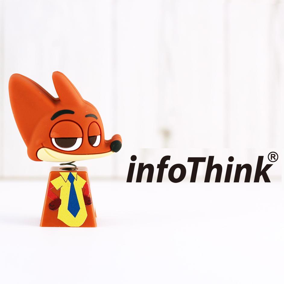 InfoThink ZOOTOPIA 狐狸搖頭造型隨身碟 32GB