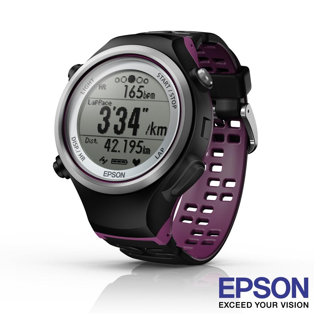 Epson RUNSENSE SF-810V 路跑教練 運動錶(GPS+心率感測)