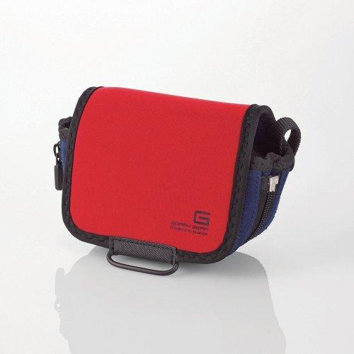 ELECOM GRAPH GEAR單眼相機包II-紅
