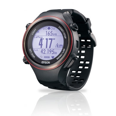 EPSON Runsense SF-850 專業路跑教練(GPS+心率感測)黑