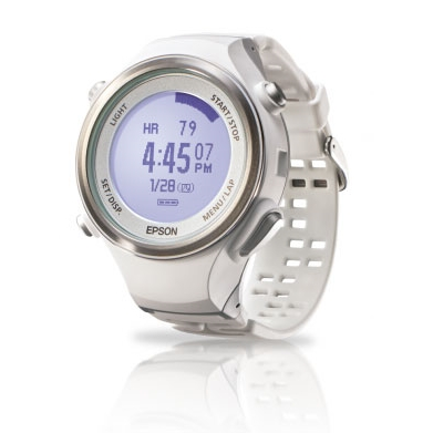 EPSON Runsense SF-850 專業路跑教練(GPS+心率感測)白