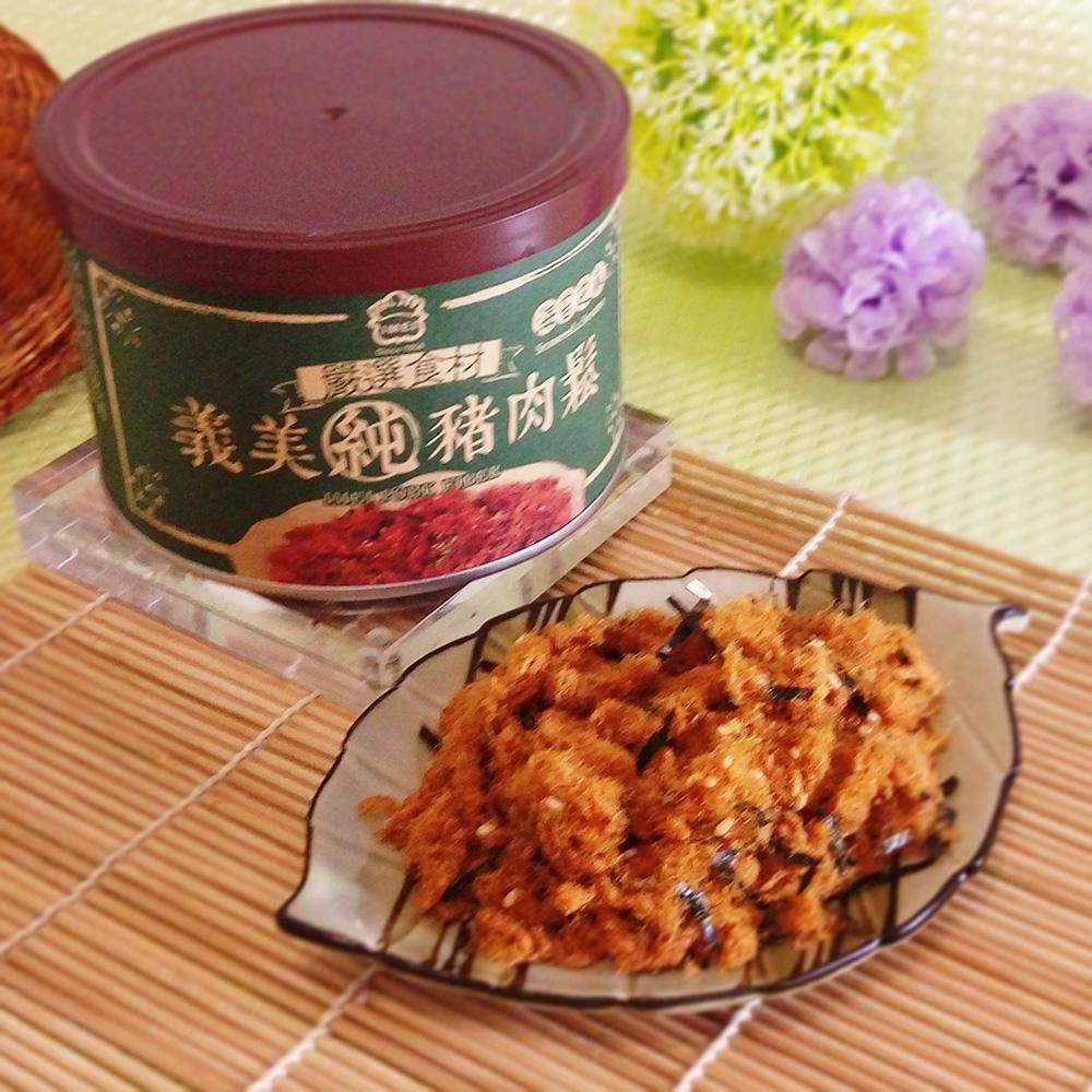 【義美】海苔芝麻肉鬆(125g/罐)