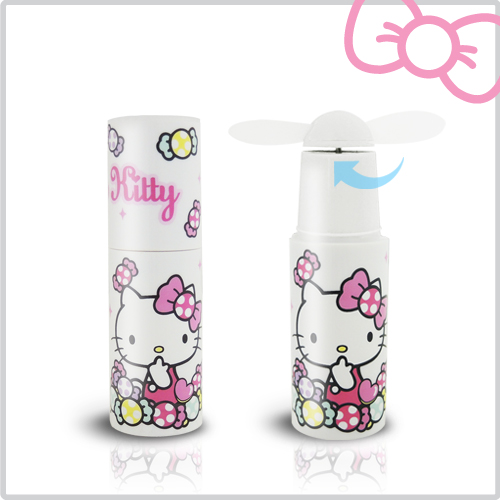 Hello Kitty 輕巧隨身涼風扇-蜜糖白(KT-F06WH)蜜糖白