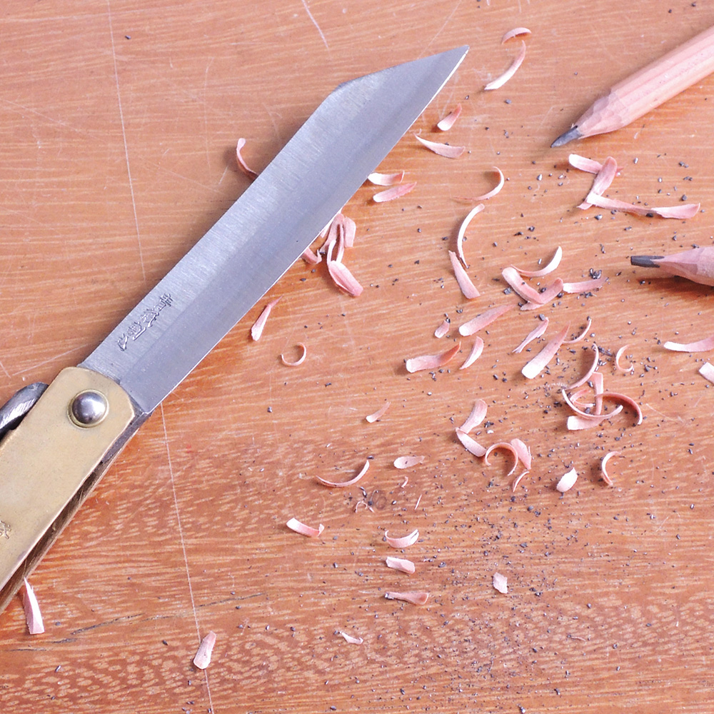 播州刃物 肥後守多層鋼 特別手工鍛造刀-大