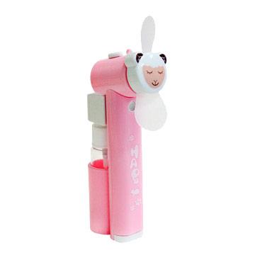 iBRIDGE 可愛動物風扇 噴水隨身風扇-綿羊