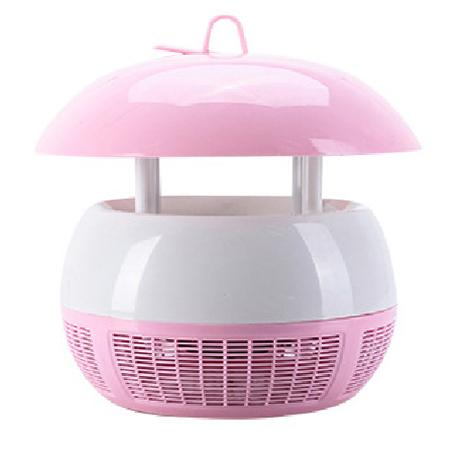 可攜式USB光觸媒吸入式捕蚊燈粉紅