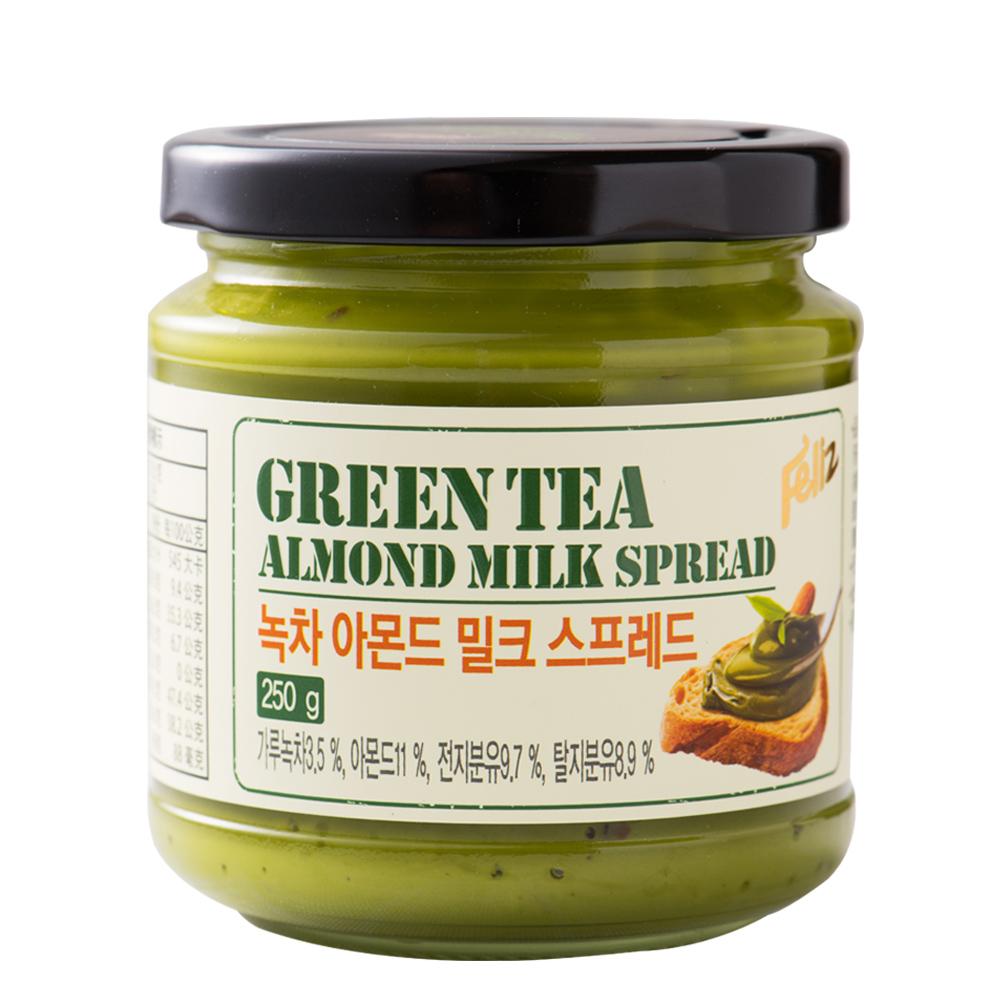 菲立士 杏仁粒抹茶牛奶醬(250g)
