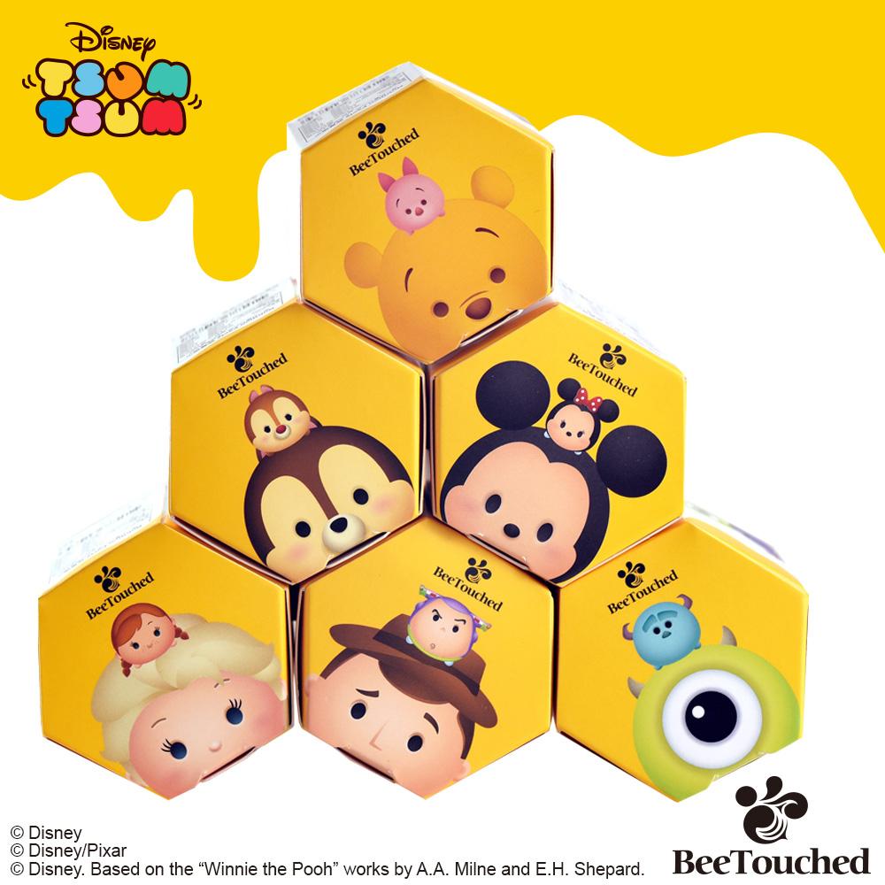 蜜蜂工坊- 迪士尼tsum tsum系列手作蜂蜜(六入組)