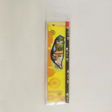 迪雅生活 - 臺灣夾式書籤鉛筆組 景點系列 - 太魯閣 創意傳遞快樂生活