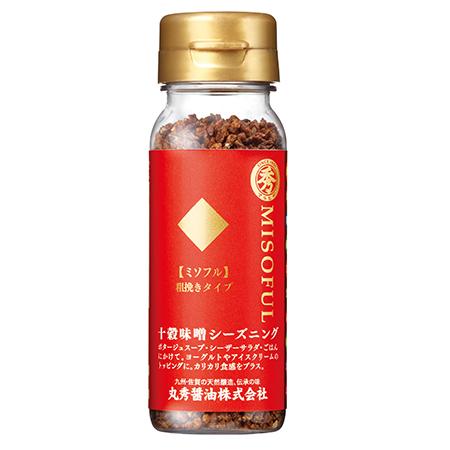 【丸秀醬油】十穀味噌(粗顆粒)50g-乾式