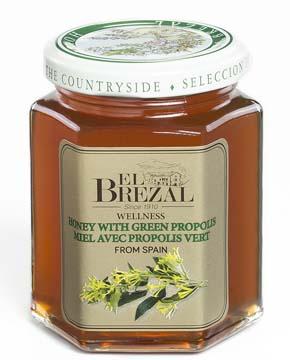 ?El Brezal艾比索?綠蜂膠蜂蜜 250g