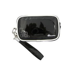 Rockfire NDSL/NDSi/3DS 鏡面亮彩皮革收納攜行包JAS-0010-DSBG黑色