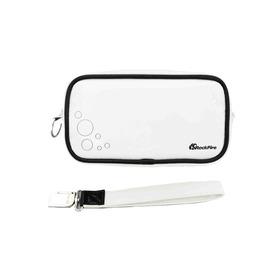 Rockfire PSP專用鏡面亮彩皮革收納攜行包JAS-0010-PPBG白色
