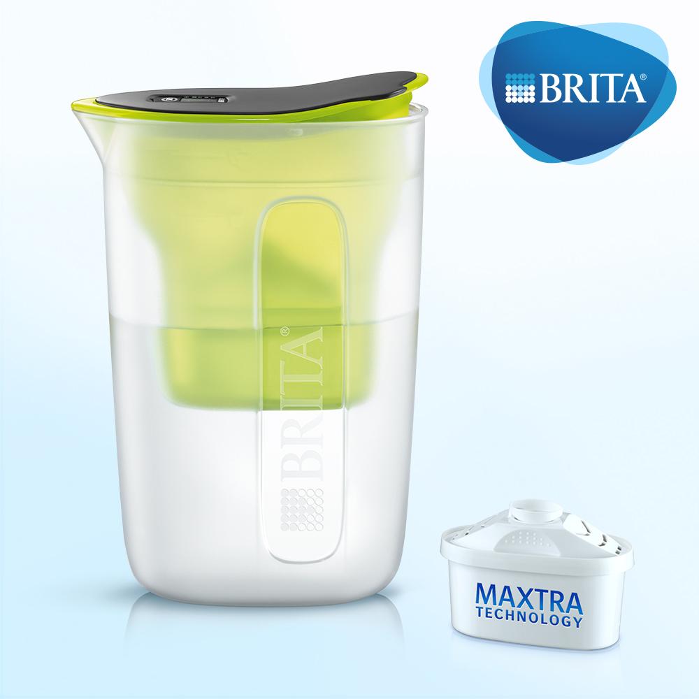 德國BRITA FUN 1.5L 酷樂壺 (內含1入濾芯)萊姆綠