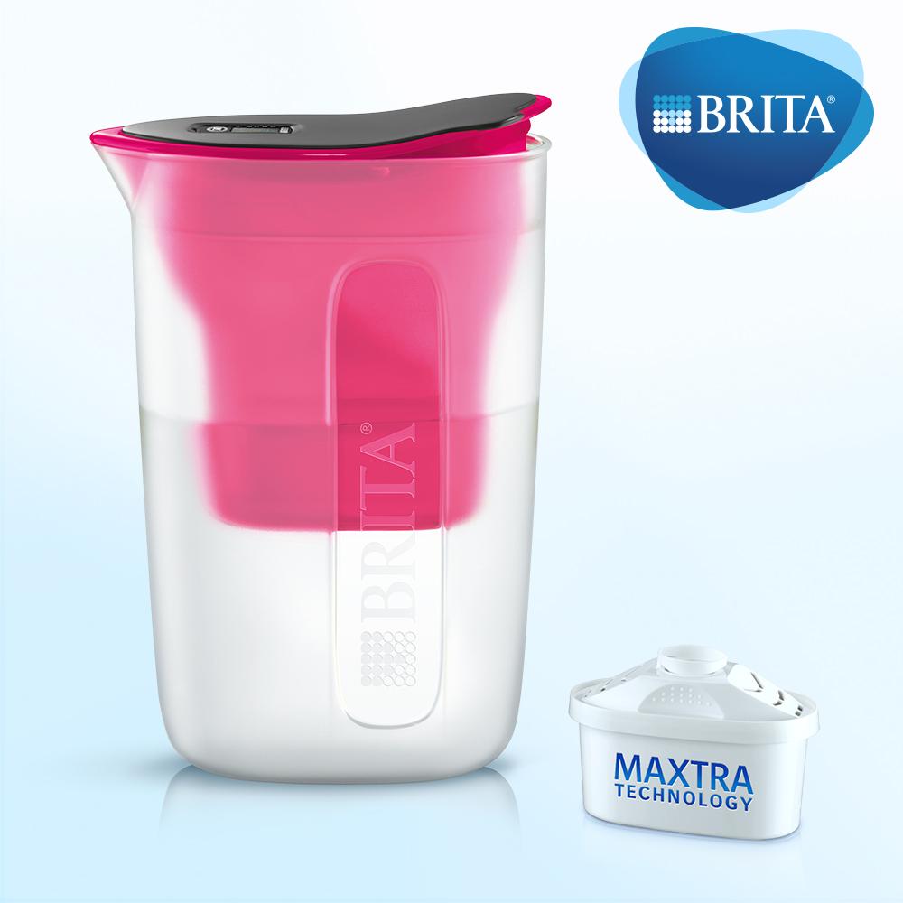 德國BRITA FUN 1.5L 酷樂壺 (內含1入濾芯)粉紅色