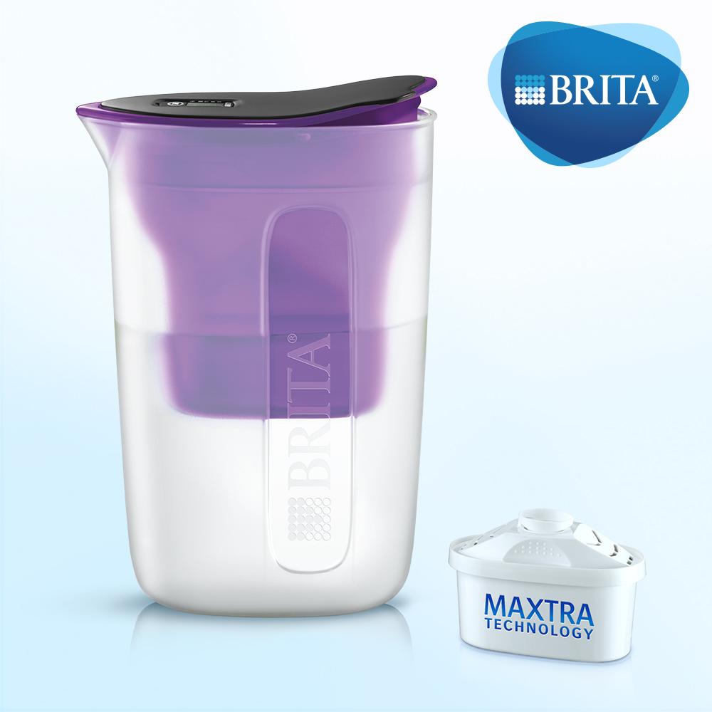 德國BRITA FUN 1.5L 酷樂壺 (內含1入濾芯)紫色