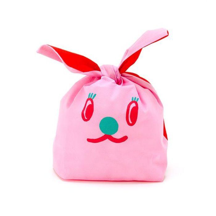 【AIUEO】兔子耳朵禮物袋(草莓兔)