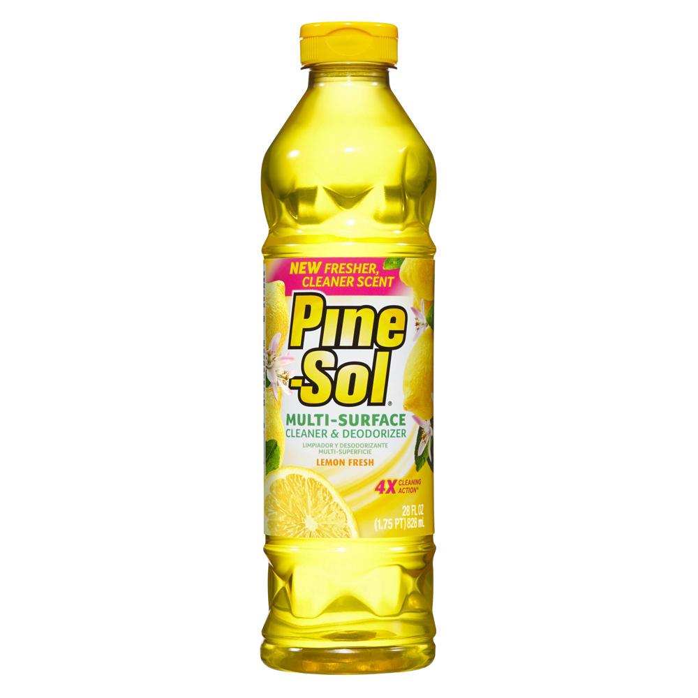 【美國 Pine-Sol】清潔劑(檸檬香 28oz/828ml)