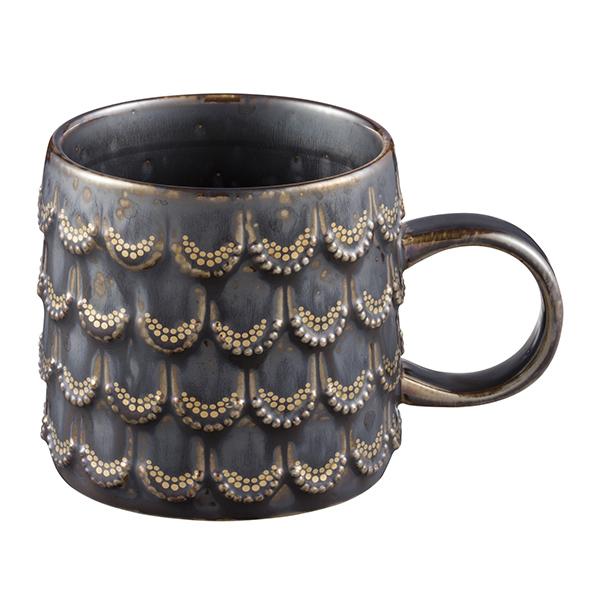 [星巴克]復古鱗片馬克杯