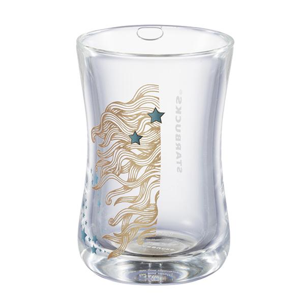 [星巴克]閃耀女神手工雙層玻璃杯