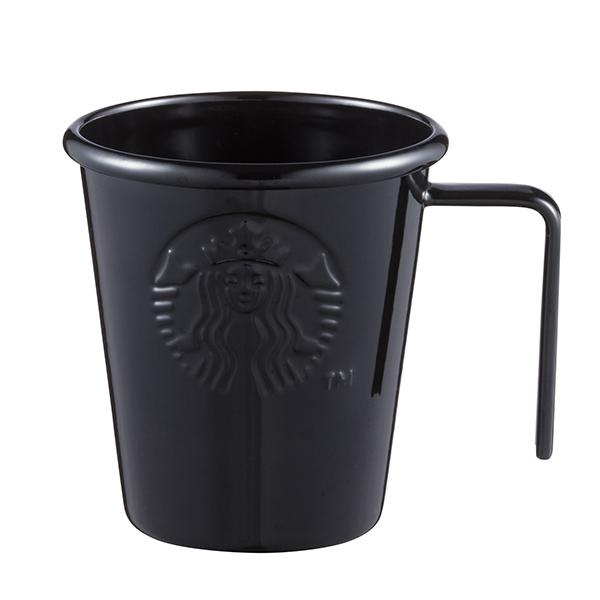 [星巴克]酷黑女神琺瑯杯
