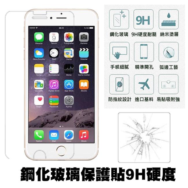【Q&K】 Apple iPhone7 plus 5.5吋 鋼化玻璃保護貼(前貼) 9H硬度 0.3mm 疏水疏油 高清抗指紋