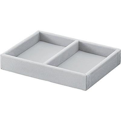 [MUJI無印良品]壓克力盒用灰絨內盒