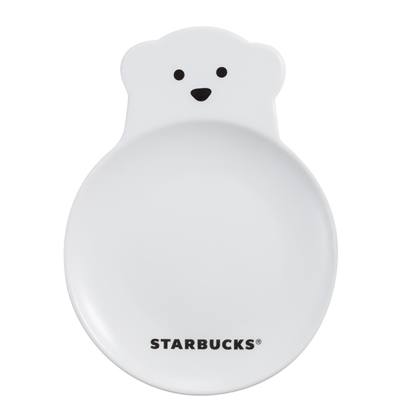 [星巴克]可愛小白熊點心盤