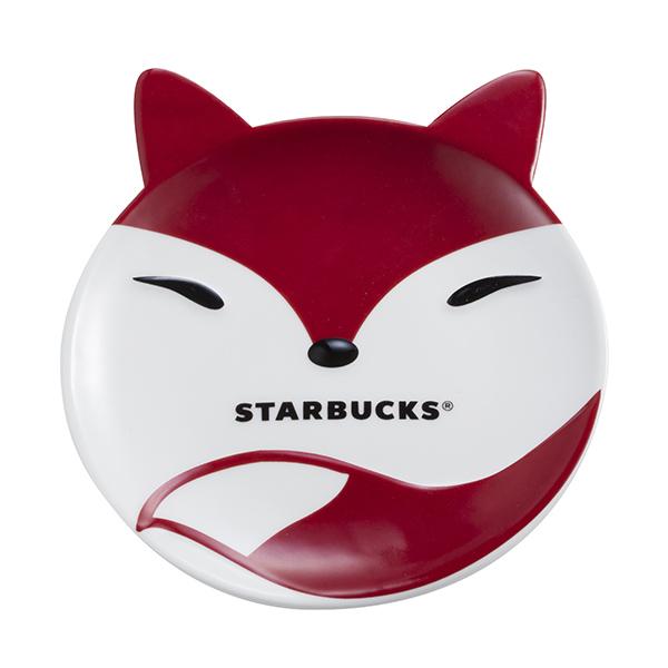 [星巴克]淘氣狐狸點心盤