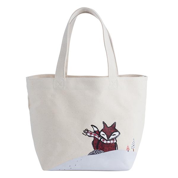 [星巴克]淘氣狐狸隨行袋