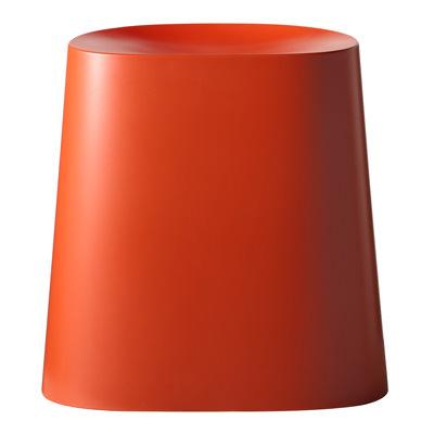 [MUJI無印良品]PP可堆疊椅凳/紅色