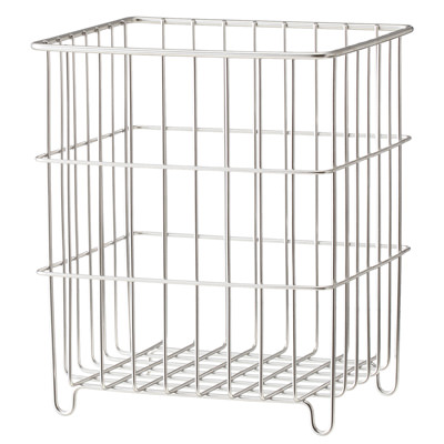 [MUJI無印良品]不鏽鋼收納籃/寬15cm