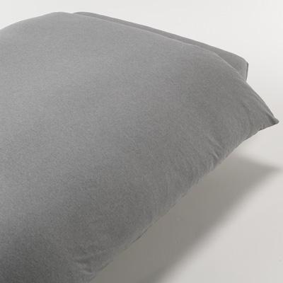 [MUJI無印良品]有機棉天竺被套/D雙人/混灰