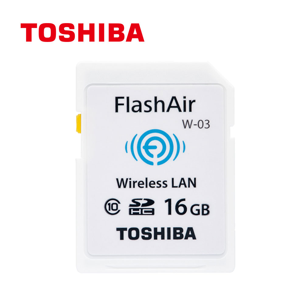 TOSHIBA Clcass 10 16GB SDHC , WIFI 無線傳輸記憶卡(原廠 公司貨)
