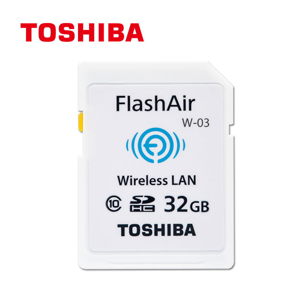 TOSHIBA Clcass 10 32GB SDHC , WIFI 無線傳輸記憶卡(原廠 公司貨)