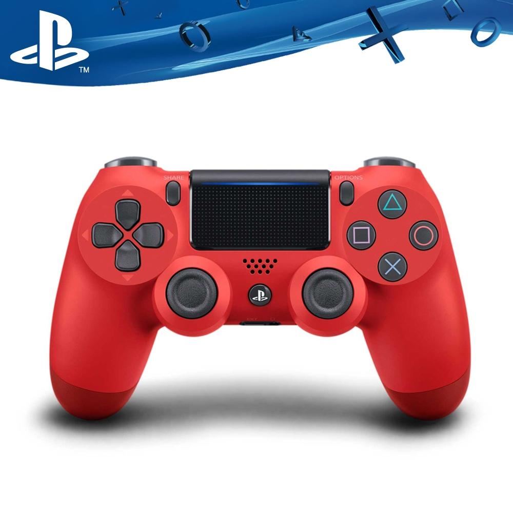 PS4原廠DS4 光條觸碰板 無線震動手把-熔岩紅(CUH-ZCT2G11)