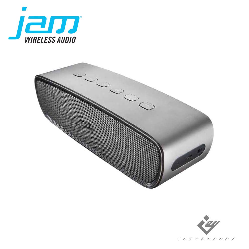 Jam Heavy Metal 無線藍牙喇叭銀