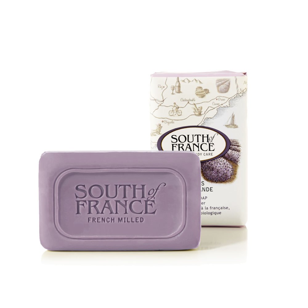 South of France 南法馬賽皂 薰衣草莊園 42.5g 旅行版~ 一般、敏感膚