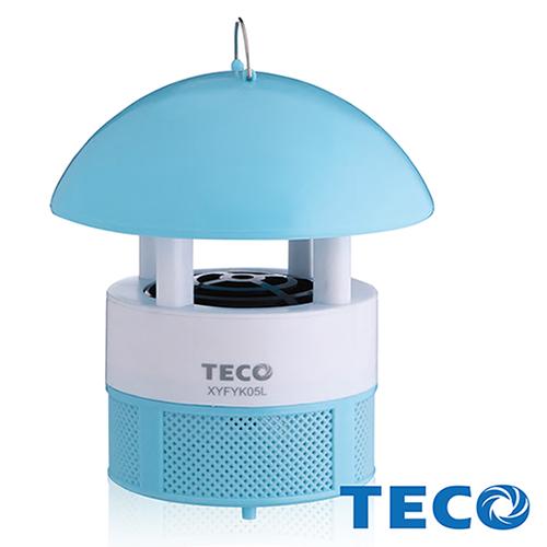 【東元TECO】 LED吸入式捕蚊燈藍色