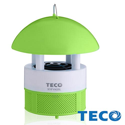 【東元TECO】 LED吸入式捕蚊燈綠色