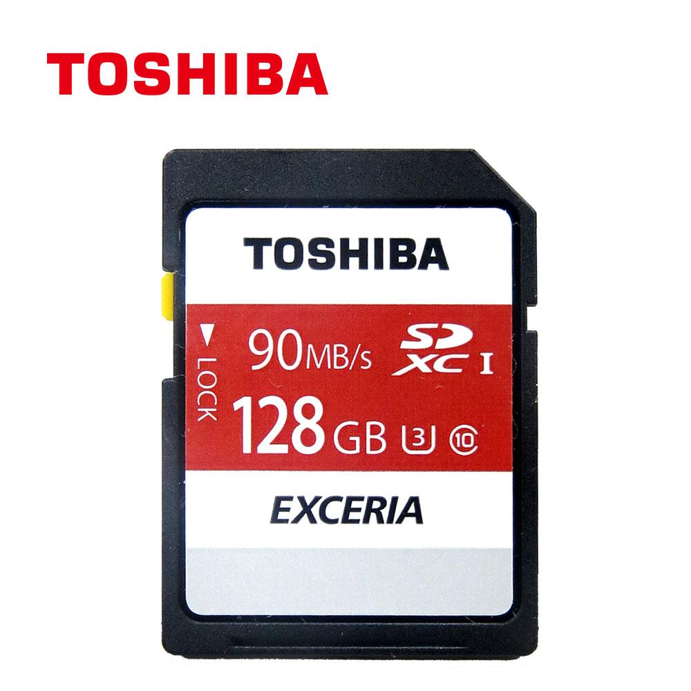 Toshiba 128GB SDXC UHSI U3 C10 R90 Card (THN-N302R1280A4) 原廠公司貨