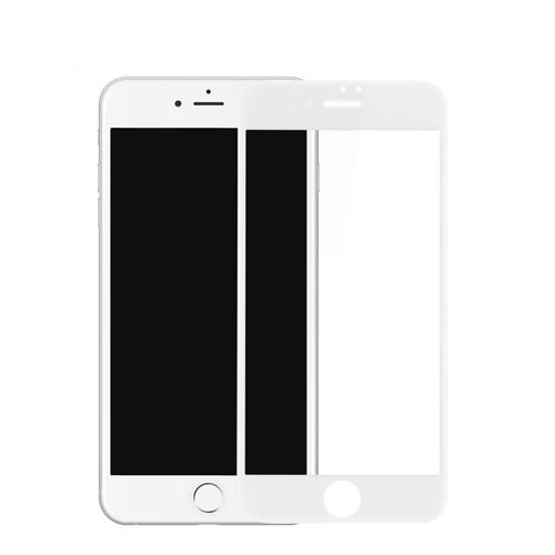 Kalo 卡樂 iPhone7 Plus 3D曲面滿版玻璃保護白色