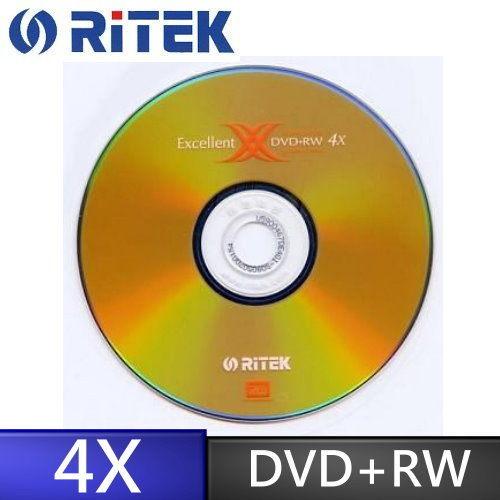 錸德 Ritek X 版 4X DVD+RW 4.7GB (10布丁桶裝)